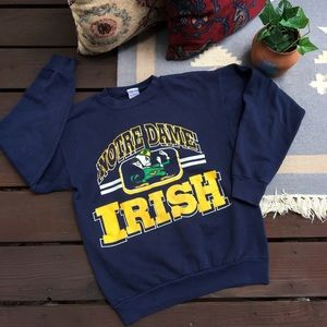 Vintage Notre Dame Fighting Irish Sweater